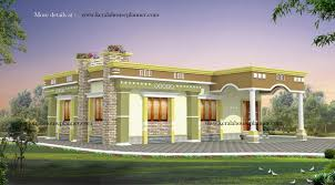 Small Picture Single Floor House Designs Kerala House Planner Contemporary