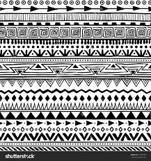 Aztec Patterns New Decoration