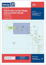 Chart Of Caribbean Islands A2 Puerto Rico To The Virgin And Leeward Islands