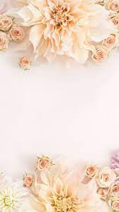 Rose gold wallpaper, flower, wedding ...