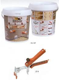 raimondi starter kit floor tile levelling system with standard 1 5mm wide base clips pt