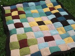patchwork knit blanket- I'm attempting my own..it is slow going ... & patchwork knit blanket- I'm attempting my own..it is slow going Adamdwight.com