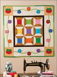 Best 25+ Quilt design wall ideas on Pinterest | Design wall for ... & Quilting - Wall QuiltsUse this free quilting pattern to stich a fun and  colorful wall quilt. This fun design features pincushions. Adamdwight.com
