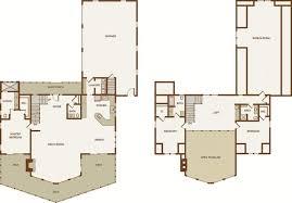 Jackson  Version II  Log Homes Cabins And Log Home Floor Plans Large Log Cabin Floor Plans