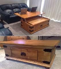diy turner lift top coffee table