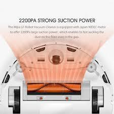 Máy Hút Bụi Xiaomi G1 Robot 2200Pa 2500mAh 100-240V - Hàng Nhập Khẩu Chính  Hãng