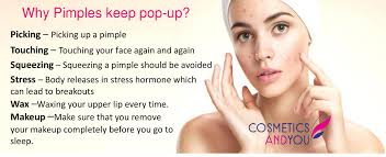 why pimples keep pop up in the same place cosmetics and you acne treatment careprost eyelashes careprost skin care