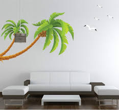 wall decals stickers coconut palm