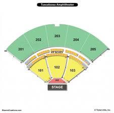 Tuscaloosa Amphitheater Seating Chart Seating Chart