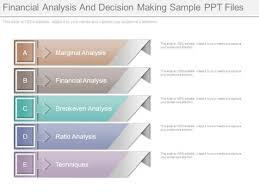 Financial Analysis And Decision Making Sample Ppt Files - Powerpoint ...