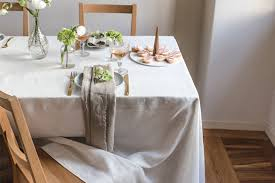 dining room table cloth. Rough Linen Smooth Tablecloth Dining Room Table Cloth