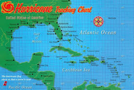 My Favorite Postcards Hurricane Tracking Chart Postcard