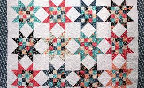 New Friday Tutorial: The Four Patch Stars Quilt & Free Tutorial on the Four Patch Stars Quilt! Adamdwight.com
