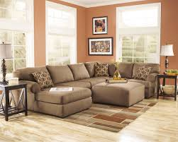 ashley furniture cowen mocha sectional