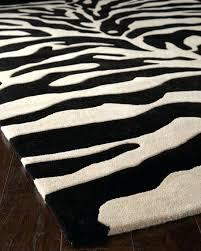 zebra rug brown ivory furniture