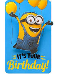 Amazon Com Despicable Me Minion Another Year Older Birthday Card