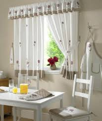 kitchen curtains modern interior design ideas