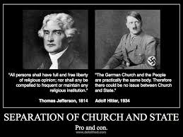 Hitler Christianity Quotes Best of Thomas Jefferson On Separation Of Church And State Defaithed
