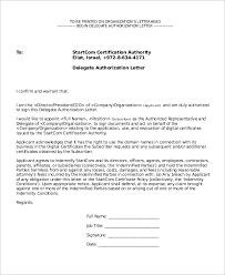9 Letter Of Authorization Samples Sample Templates