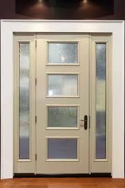 peachy glass front doors