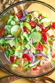 simple side salad recipe peas and