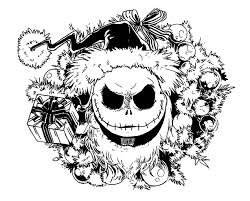 Zero Nightmare Before Christmas Coloring Page Printable Coloring