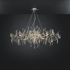 traditional chandelier glass bronze halogen bijout ct3263 12