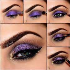 purple and gold eye makeup bmodish i5 eye makeup tutorials you will love