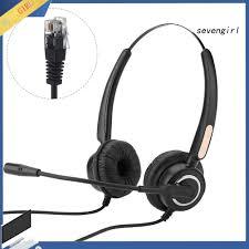 Tai Nghe Chống Tiếng Ồn Sev-H500D 2.5mm / Dual 3.5mm / Rj9 / Usb - Tai nghe  máy tính Nhãn hiệu No Brand