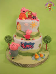 Peppa Pig Birthday Cake Fomanda Gasa