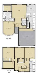 floor plans for homes. Exellent Homes 4 BR 25 BA Floor Plan House Design In Houston TX On Plans For Homes O
