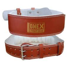 weight lifting gym leather belt