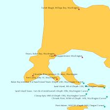 Tide Chart Long Beach Wa Ilwaco Baker Bay Washington Tide Chart