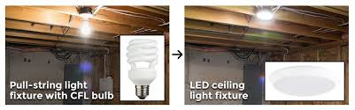 basement light replacement guide