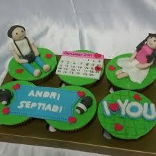 Jual Cupcake Birthday Family Anniversary Custom Cake Fondant