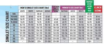 Matman Singlet Size Chart Matman Goodwill Low Cut Singlets