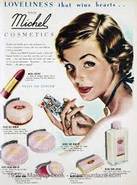 gallery makeup adverts of the 1950 s