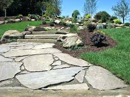 flagstone patio cost. Simple Patio Flagstone Patios And Walkways Natural Walkway Inlay To Patio Stone Cost  Install In