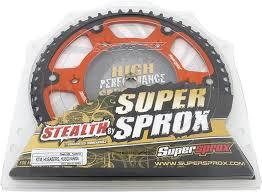 Supersprox Orange Stealth Rear Sprockets Ktm