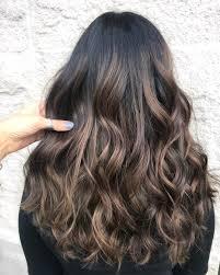 Dark Brown Hair Light Brown Balayage 50 Dark Brown Hair With Highlights Ideas For 2020 Hair Adviser