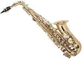 Monoprice <b>Eb Alto Saxophone</b> Gold Lacquer Finish, Pad Saver ...