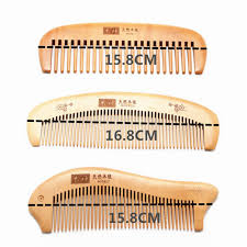 hair brush peach wood combs paddle brush hair care natural health care cushion massage hairbrush comb hair straightenerfor women