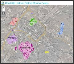 historic districts submitted applications and coa s by district
