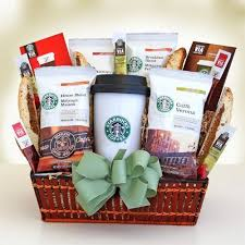 starbucks variety gourmet coffee gift basket great coffee gift set for the coffee lover