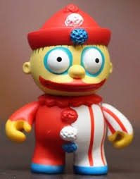 Think Pink Celle You Shop For Art Toys  Sold Out KIDROBOT X Simpsons Treehouse Of Horror Kidrobot