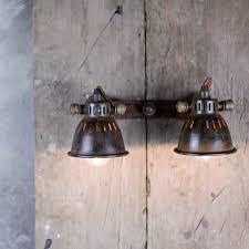 industrial look lighting. TUBU BRASS DOUBLE SPOT LIGHT We Love The Rustic, Industrial Look Of These Brass Spot Lights. Lighting Y