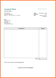 Free Printable Business Invoice Template Format In Excel For