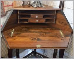 ethan allen secretary desk with hutch unique unique corner desk vintage