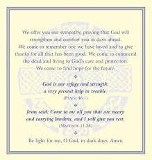 Funeral Prayer Cards Funeral Prayer Cards 9781853116612 Christianbook Com