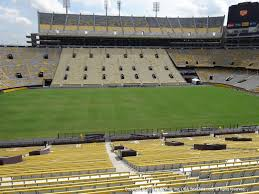 Lsu Tiger Stadium View From West Sideline 104 Vivid Seats